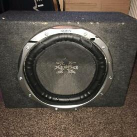 22 inch Sony dual coil subwoofer - 1500 watts