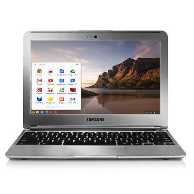 "Lot of 10) 11.6"" SAMSUNG Google ChromeBook Laptop XE303C12 HDMI 16GB Webcam WiFi"