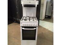Beko BCEG501W 50cm Freestanding Gas cooker In White