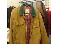 Rugged clothing jacket