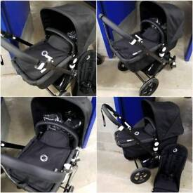 Bugaboo cameleon 2 limited edition all black