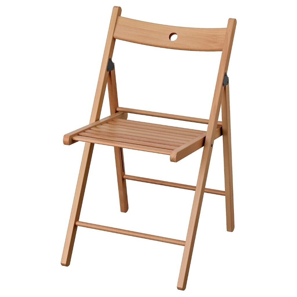 Ikea Terje Folding Chair Solid Beech Wood Garden Living Room Furniture Guest Party Picnic Camping In Acton London Gumtree