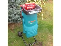 Bosch AXT RAPID 2200 used electric garden shredder