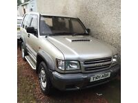 Isuzu trooper swb 4x4