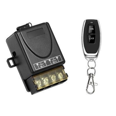 AC 12V/24V/36V/48V/60V 30A Relay Wireless Remote Control Switch Transmitter