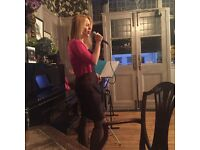Singer available for all occasions