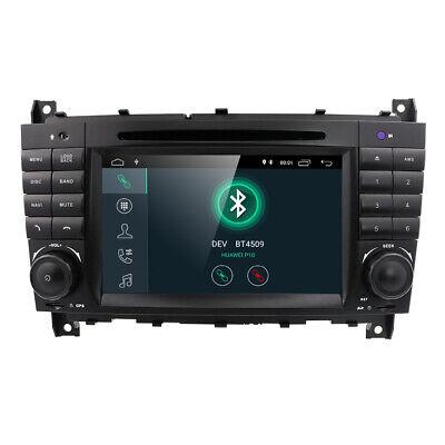 Android 9.0 DAB+ Autoradio Mercedes BENZ C/CLK Klasse CLC W203 W209 WiFi OBD GPS