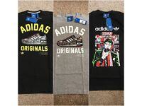 3x Brand New With Tags Adidas Originals t-shirts (Small Men)