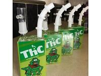 Glass THC Juice Carton Dab Rig For Oils/Extracts