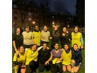 Looking for ladies football players. All around london