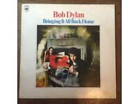 Bob Dylan Bringing it all Back Home RARE stereo print copy