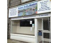 Shop available for rent (Elmbank Terrace)