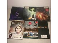 6 V RARE Sets - Moonspell Insitanian + Gears of War Judgement + Dragon Age Inquisition + RE6 +More!