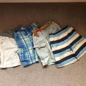 Boys shorts bundle age 4-5