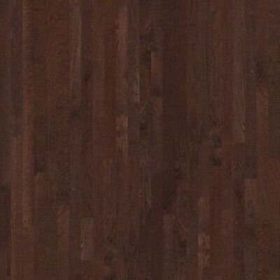 Red Oak Prefinished Solid Wood Flooring, Coffee Bean, 3 1/4