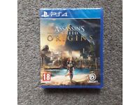 Assassin's Creed Origin's for PS4 (new)
