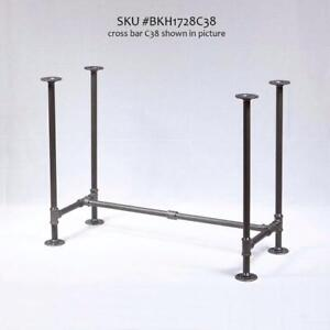Industrial pipe KIT, pipe table legs, table frame, table base, bench legs, shelf brackets, shelving