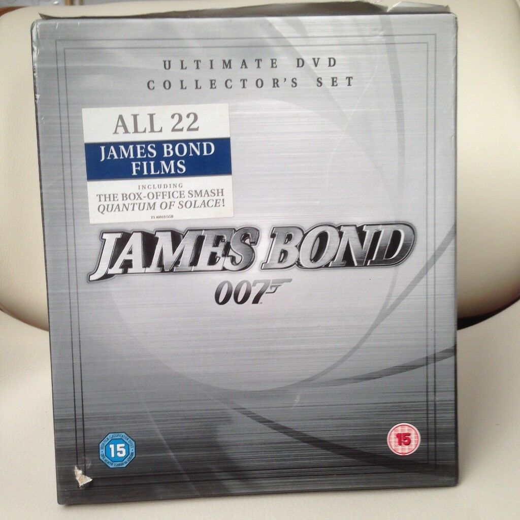 James Bond The Ultimate DVD Collection - 22 DVD Box Set | in Chelsea ...