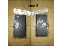 Iphone 5 phone case in black..brand new