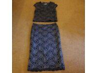 Precis Petite, Size 12, Skirt & Top combo