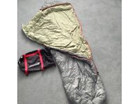 Coleman sleeping bag, size L