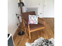 Futon Company Oak Rocking Chair - REDUCED
