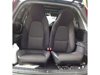 2 fabric seats for a Mazda Mx5. mk2 2.5