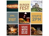 Burger Festival Cardiff 21st April
