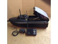 Jabo carp fishing bait boat charger and controller