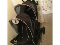 Gracco Quattro double pushchair