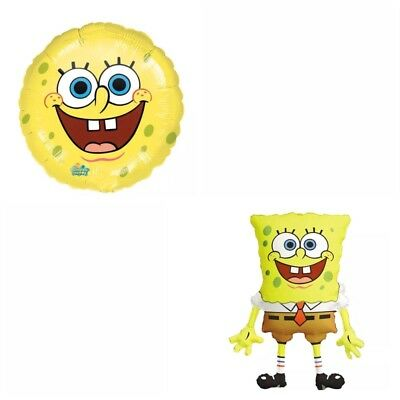 XL Folienballon SpongeBob Spong Bob Schwammkopf Kindergeburtstag Luftballon