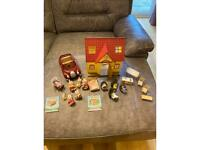 Sylvanian Families Cosy Cottage and Car