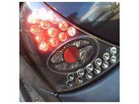 Renault Clio LED Pair Rear Brake Light 2001-2006 Light Tint Will Fit 3or5 Door 172 182 V6 100sales