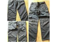 """Navy work trousers 38"""" waist 33"""" leg"""