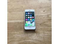 IPHONE 5, 32GB. SILVER. O2,TESCO,GIFFGAFF