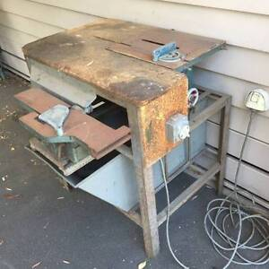 Table Saw & planer - vintage Ezycut Cheltenham Kingston Area Preview
