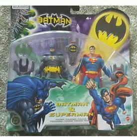 Batman/superman toy