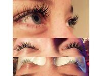 Individual eyelash extensions😍