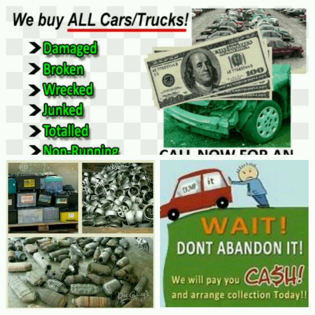 Sell your scrap car now | in Northamptonshire | Gumtree
