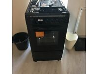 New Black Bush Gas cooker