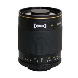 Opteka 500mm F8 HD Telephoto Mirror Lens for Canon Digital SLR Camera Boxed