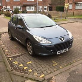 Peugeot 307 1.6 petrol low mileage