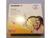 Medela Swing Single Electric Breast Pump with Calma