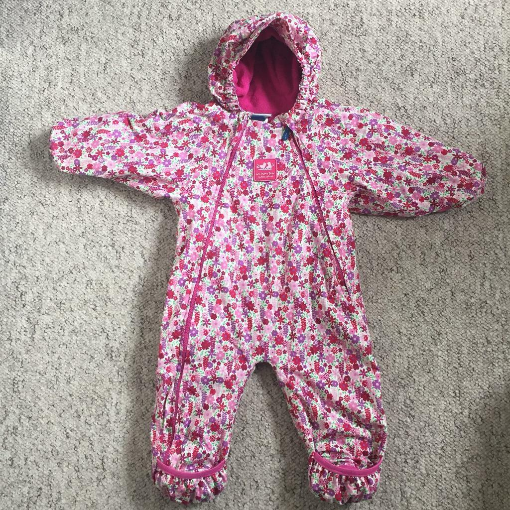 db8055816 JoJo Maman Bebe Waterproof Fleece Lined All-in-One 9-12 Months ...