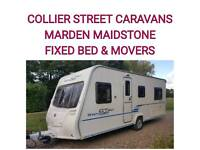 2009 Bailey ranger gt60 520/4 FIXED BED caravan motor movers