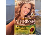 Garnier Nutrisse Creme 8(Blonde)-from a smoke&pet free home