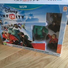 Wii U Disney Infinity and Infinity 2 and skylanders trap team dark edition