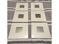 IKEA Malma mirrors (x6)