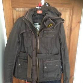 Super dry size m ladies jacket