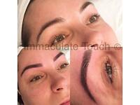 Microblade method brows by Immaculate Touch- lasting 12-18 months
